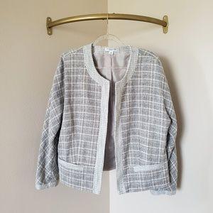 Pendleton Plus Grey Tweed Blazer 18W